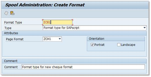 SAP Custom Page Format 2-2