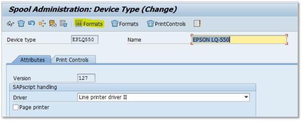 SAP Custom Page Format 3-5