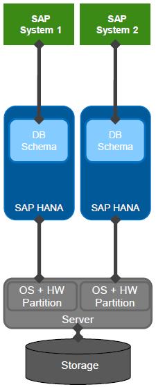 SAP HANA Physical Server Partitioning